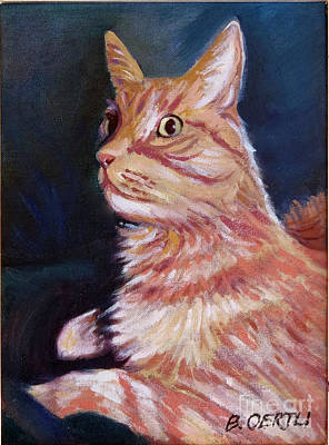 Painting - Bobcat I by Barbara Oertli