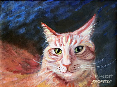 Painting - Bobcat II by Barbara Oertli