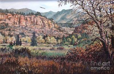 Bobcat Ridge Art Print by W  Scott Fenton