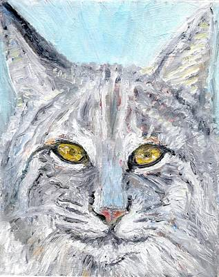 Painting - Bobcat by Sandra Lytch