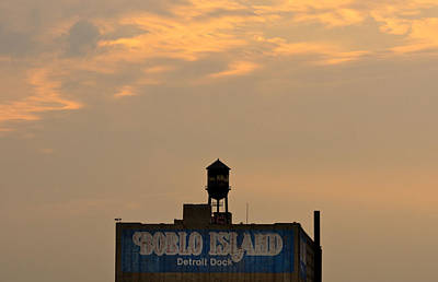 Billboard Photograph - Boblo Detroit Dock by Cale Best