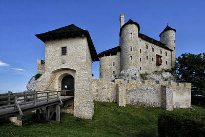 Photograph - Bobolice Castle by Robert Woodward