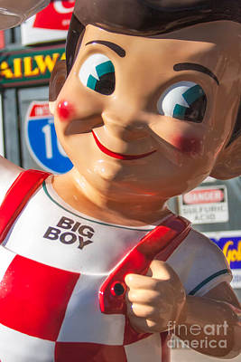 Bob's Big Boy Art Print by Jerry Fornarotto