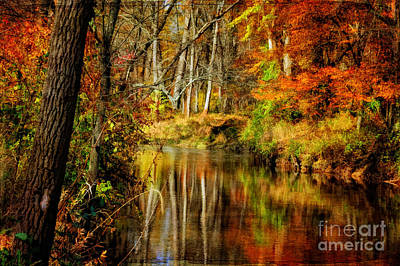 Digital Art - Bob's Creek by Lois Bryan