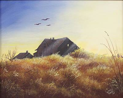 Painting - Bob's House by Cindy Welsh
