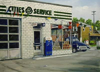 Painting - Bob's by William Brody