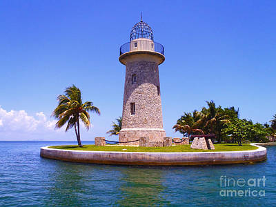 Scuba Photograph - Boca Chita Lighthouse by Carey Chen
