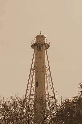Photograph - Boca Grande In Sepia by Laurie Perry