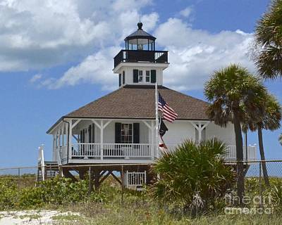 Boca Grande Lighthouse Art Print