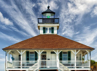 Photograph - Boca Grande Lighthouse by Frank J Benz