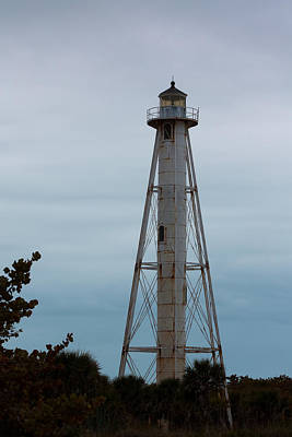 Photograph - Boca Grande Rear Range Light by Ed Gleichman