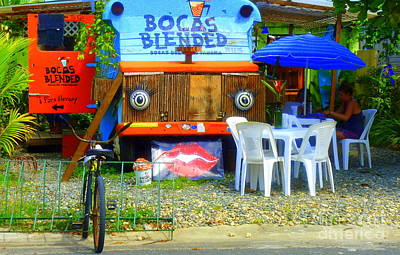 Bocas Blended Art Print by Kris Hiemstra
