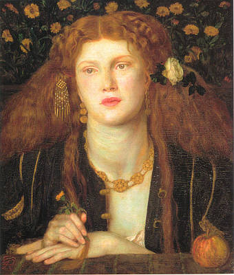Pre-raphaelite Painting - Bocca Baciata by Philip Ralley
