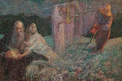 Boccioni Umberto, The Mower, 1909, 20th Art Print by Everett