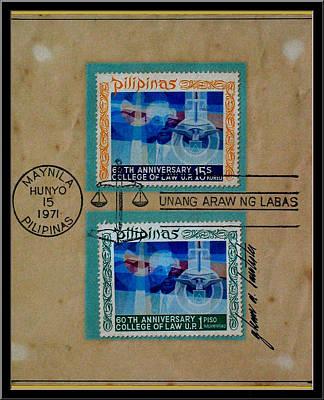 Digital Art - Bocobo Stamps by Glenn Bautista