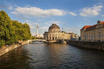 Photograph - Bode Museum In Berlin Germany by Pam  Elliott