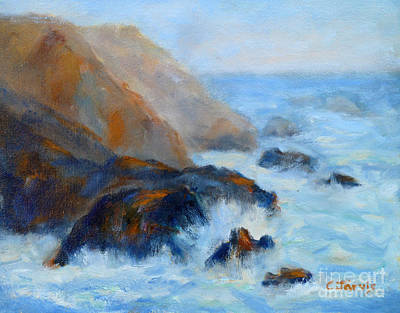 Painting - Bodega Bay by Carolyn Jarvis