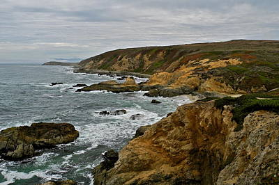 Photograph - Bodega Bay Coastline by Kirsten Giving