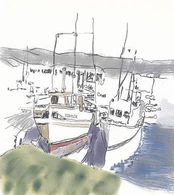 Bodega Print by George Galaich