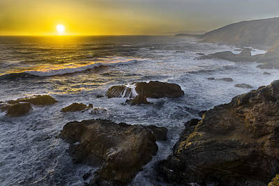 Photograph - Bodega Head At Sunset by PhotoWorks By Don Hoekwater