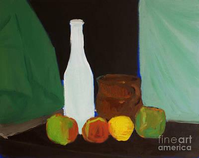 Painting - Bodegon Ige by Isusko Goldaraz