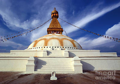 Photograph - Bodhanath Stupa by Craig Lovell