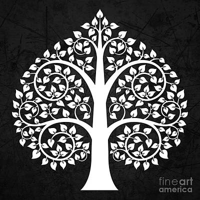 Bodhi Tree Digital Art - Bodhi Tree No.4 by Bobbi Freelance