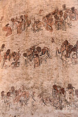Shaolin Photograph - Bodhidharma And His Followers Wall Paintings At Shaolin Temple by Oleksiy Maksymenko