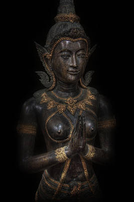 Indian Princess Digital Art - Bodhisattva Princess by Daniel Hagerman
