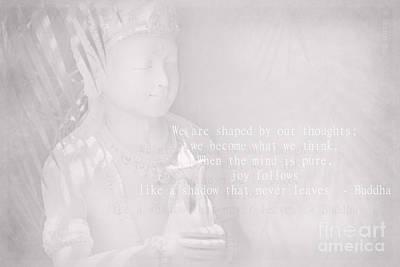 Bodhisattva Photograph - Bodhisattva by Sharon Mau