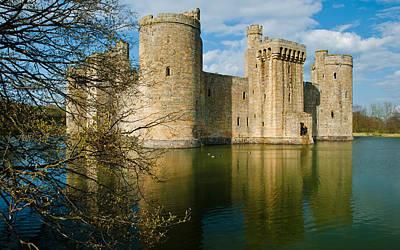 Bodiam Castle Art Print by David Ross