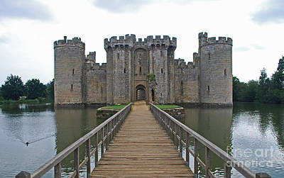 Photograph - Bodiam Castle by Scott D Welch