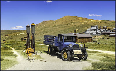 Photograph - Bodie 1927 Dodge Graham by LeeAnn McLaneGoetz McLaneGoetzStudioLLCcom