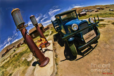 Photograph - Bodie 1927 Dodge Truck by Blake Richards