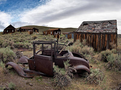 Old West Photograph - Bodie 3 by Leland D Howard