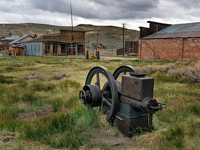 Old West Photograph - Bodie 4 by Leland D Howard