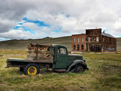 Old West Photograph - Bodie 5 by Leland D Howard