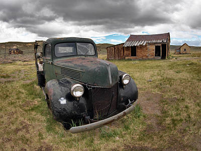 Old West Photograph - Bodie 6 by Leland D Howard