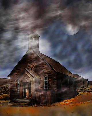 Photograph - Bodie Abstract by Wayne Wood