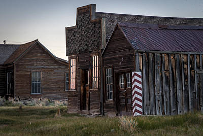 Photograph - Bodie Bar And Barber by Cat Connor