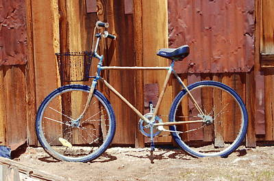 Painting - Bodie Bike by Tamyra Crossley
