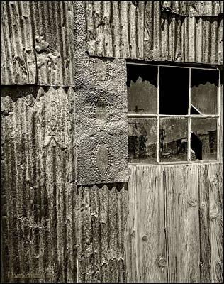 Photograph - Bodie Broken Glass Shutters by LeeAnn McLaneGoetz McLaneGoetzStudioLLCcom