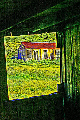 Bodie Ca From My Window Art Print