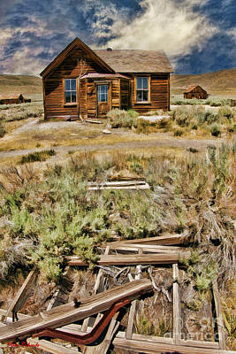 Photograph - Bodie Cabin by Blake Richards
