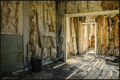 Photograph - Bodie California Forgotten Ballroom by LeeAnn McLaneGoetz McLaneGoetzStudioLLCcom