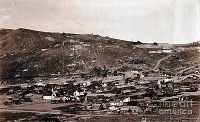 Bodie California - Ghost Town  Art Print by Pg Reproductions