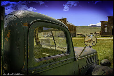 Mountain Photograph - Bodie California Leaving The Dust Behind by LeeAnn McLaneGoetz McLaneGoetzStudioLLCcom