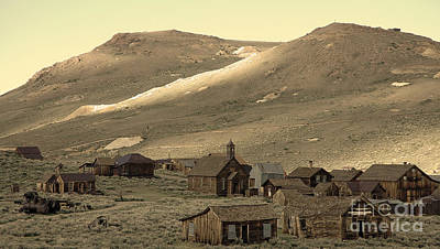 Art Print featuring the photograph Bodie California by Nick  Boren