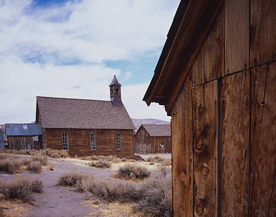 Photograph - Bodie Church by Tom Daniel