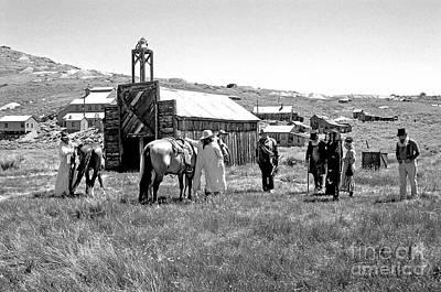 Balck Art Photograph - Bodie Cowboy by Keith Ducker